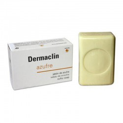 Dermaclin jabón azufre 100 gr